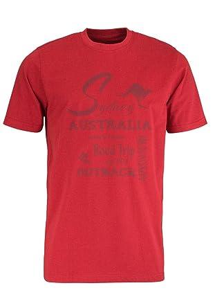 CASAMODA T-Shirt Art. 972711500 mit Druck in rot (S)
