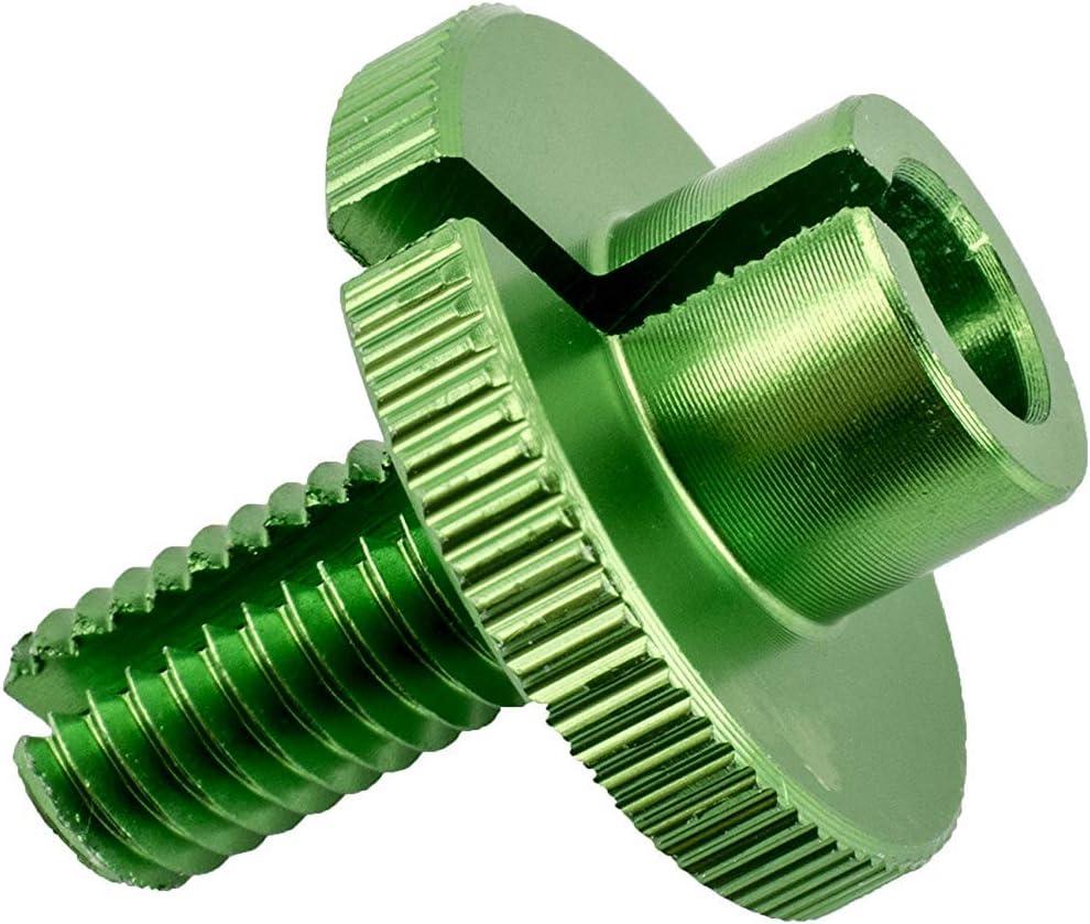 CNC Alu Kupplungs Stellschraube Einstellschraube Einstellrad blau