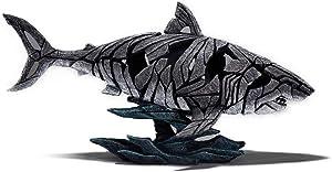 Enesco Edge Sculpture Shark Figure, 12.25 inches