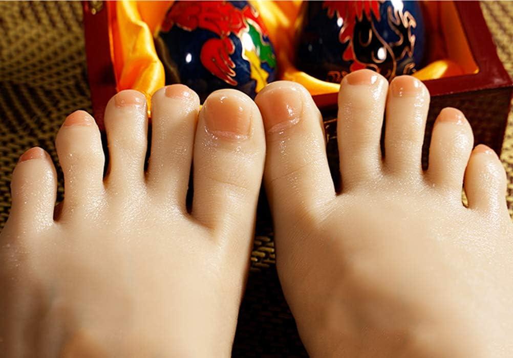 Foot model Pie de Silicona Maniquí Incorporado Tamaño De Los ...