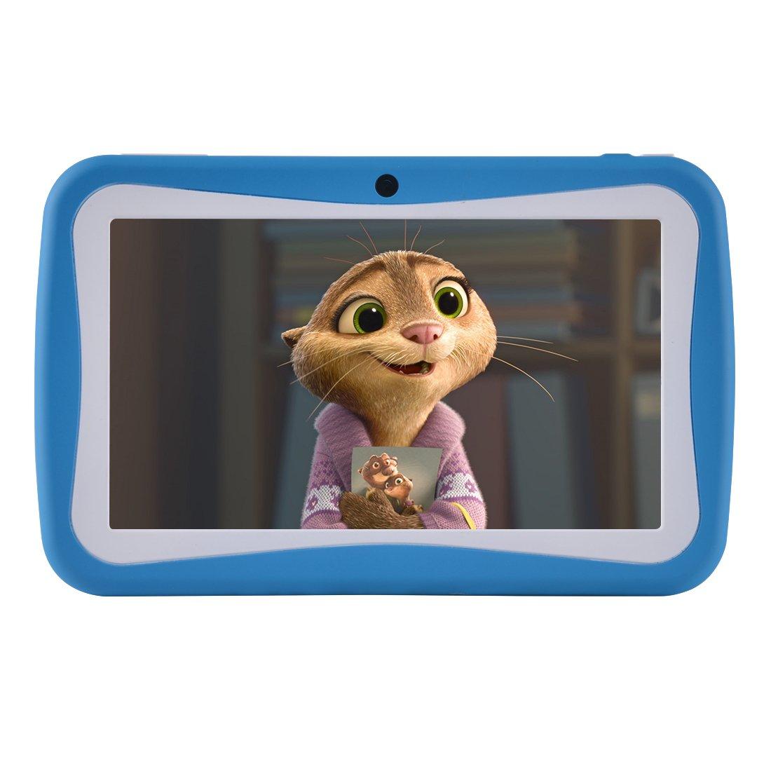 BENEVE M755 Kids Tablet, 7 pouces Andriod 7.1 Tablet avec 1 Go de RAM 8 Go ROM et Wifi, logiciel pour enfants iWawa pré-installé (rose) Sungworld