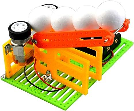 Nouvelle liste meilleur fournisseur modélisation durable juler STEM Bricolage Jouet électrique Balle Machine école ...