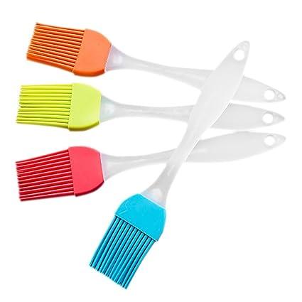 tankerstreet pincel de cerdas naturales, cepillo de cerdas de cepillo de silicona cocina de cocción