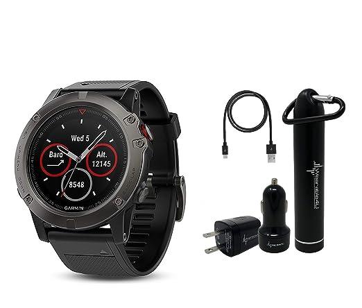 Amazon.com: Garmin Fenix 5X Sapphire Multisport Reloj GPS ...