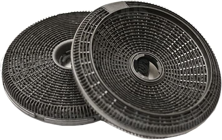 Teka de carbón filtro para campana extractora de 2 unidades: Amazon.es: Hogar