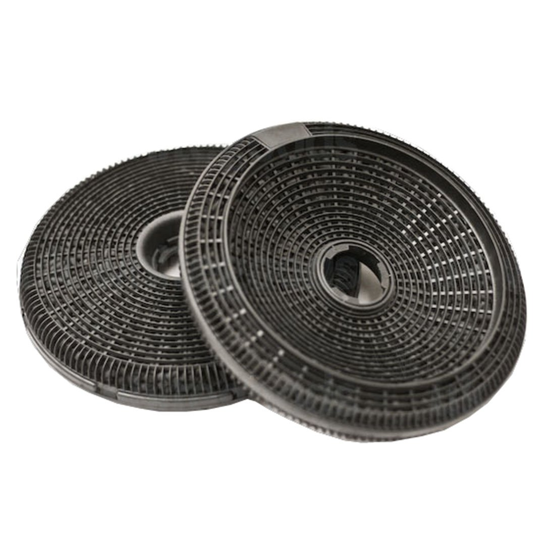 SPARES2GO Carbon Charcoal Filter for Hygena APP2510 APP2512 APP2513 Cooker Hood / Extractor Fan Vent (2 x 190 mm Filters)