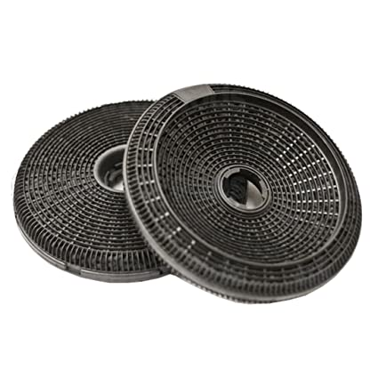 Spares2go Carbon Charcoal Filter For Bosch Neff Siemens Cooker Hood Extractor Fan Vent 2 X 190 Mm Filters