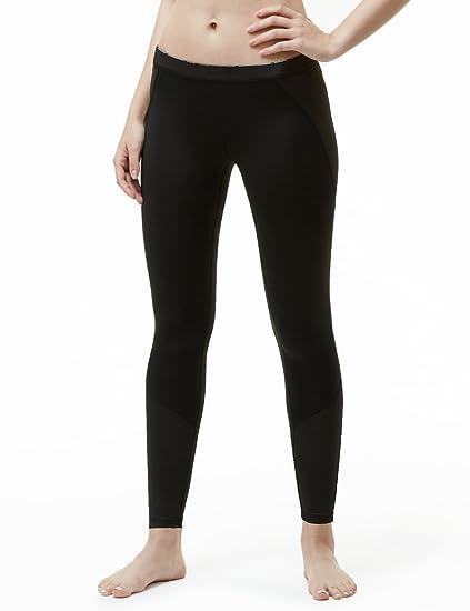 2b1c5e24a TSLA Women's Thermal Wintergear Compression Baselayer Pants Leggings Tights,  Thermal Core(xup33) -