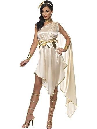 60b75d814c369 Amazon.com: OvedcRay Greek Fever Goddess Costume Roman Athena Toga ...
