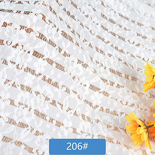 Mesh Cloth - African Lace Fabric White Swiss Voile Embroidered Gauze French Mesh Cloth Curtain Net Clothing 140 - Gift Diaper Roll Drying Ing Gardening Fabric Patch Bag Mousepad