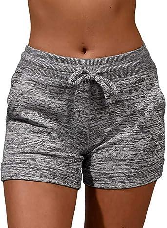 Luckycat Pantalones Cortos de Suelto para Mujer Leggings de ...