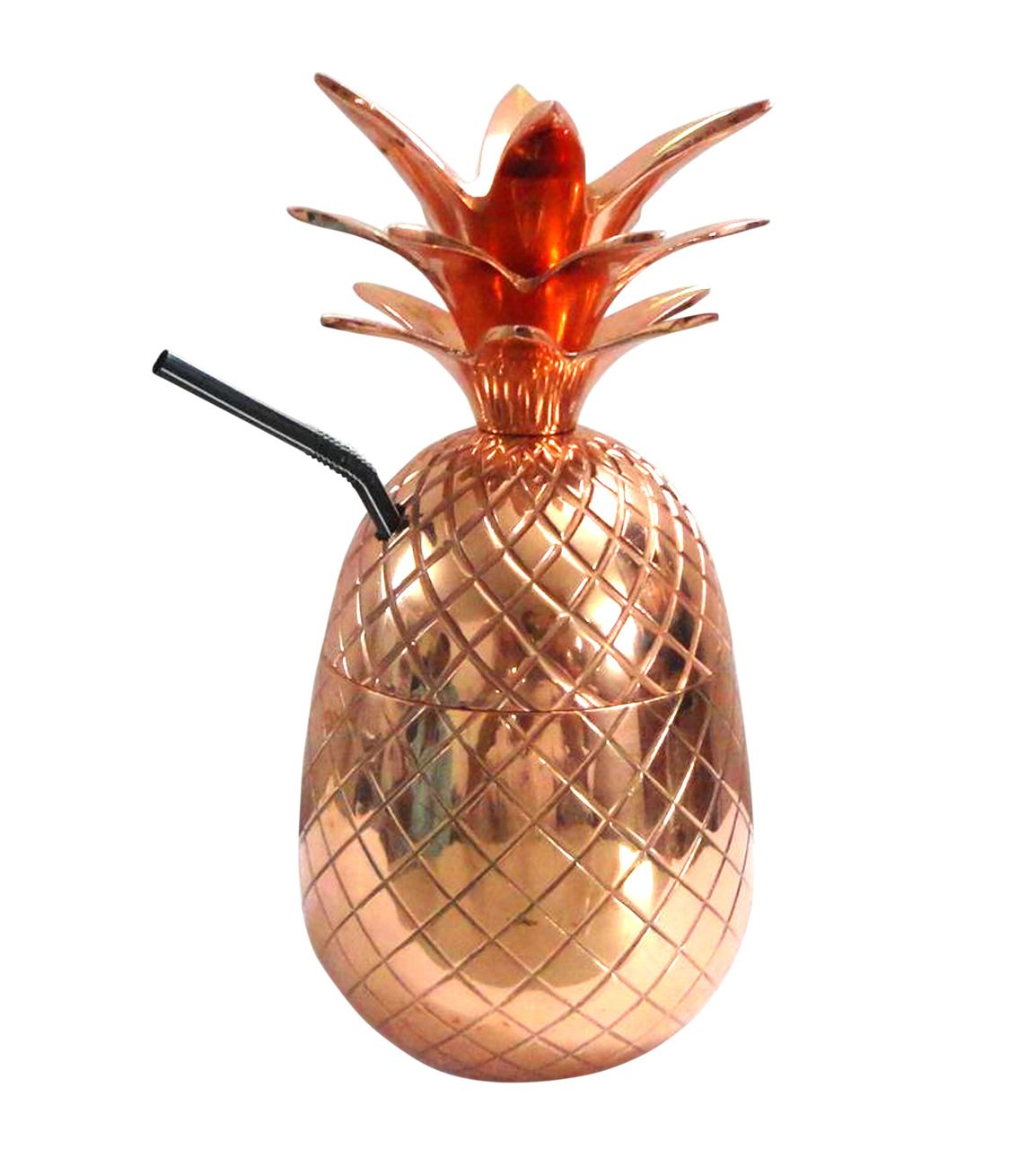 amazon com premium quality copper pineapple mug 24 oz cup tumblers