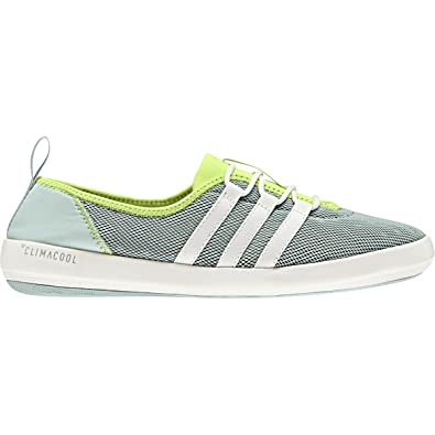 uk availability 3b0b2 6089a adidas outdoor Womens Terrex CC Boat Sleek Walking Shoe ash GreenChalk  Whitesemi