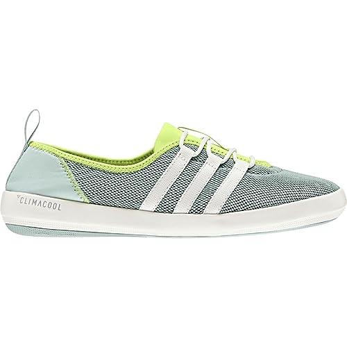 new arrivals dd20d 0de65 Adidas Outdoor - Terrex CC Barca Sleek Donna, Verde (Ash GreenChalk White
