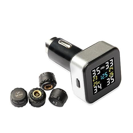 Amazon.com: Sistema de monitoreo de presión de neumáticos ...