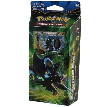 New Pokemon Luxray Pokemon Theme Deck XY Breakpoint Electric Eye