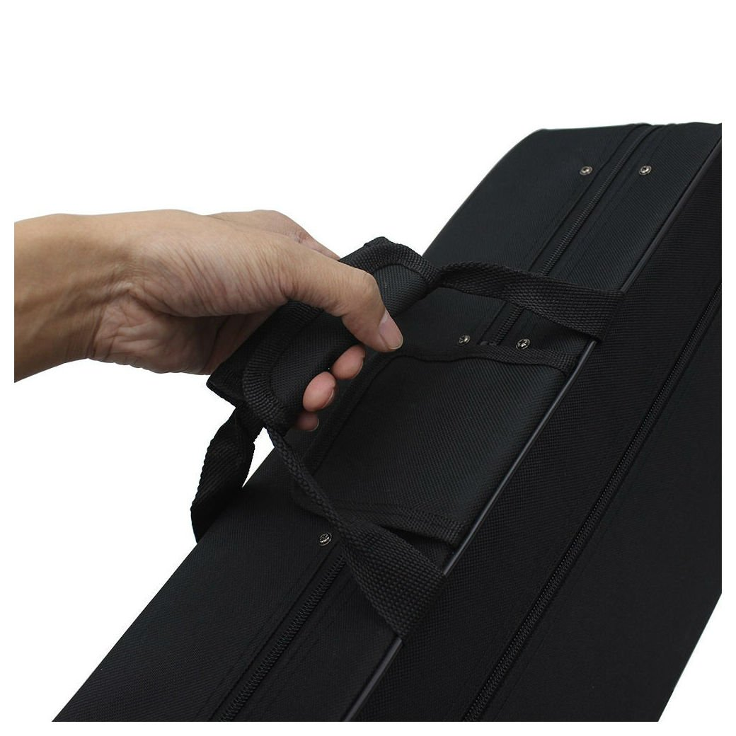 New Fashionable Musical Trumpet Hard Case Big Bag Case Black by Unbranded* (Image #4)