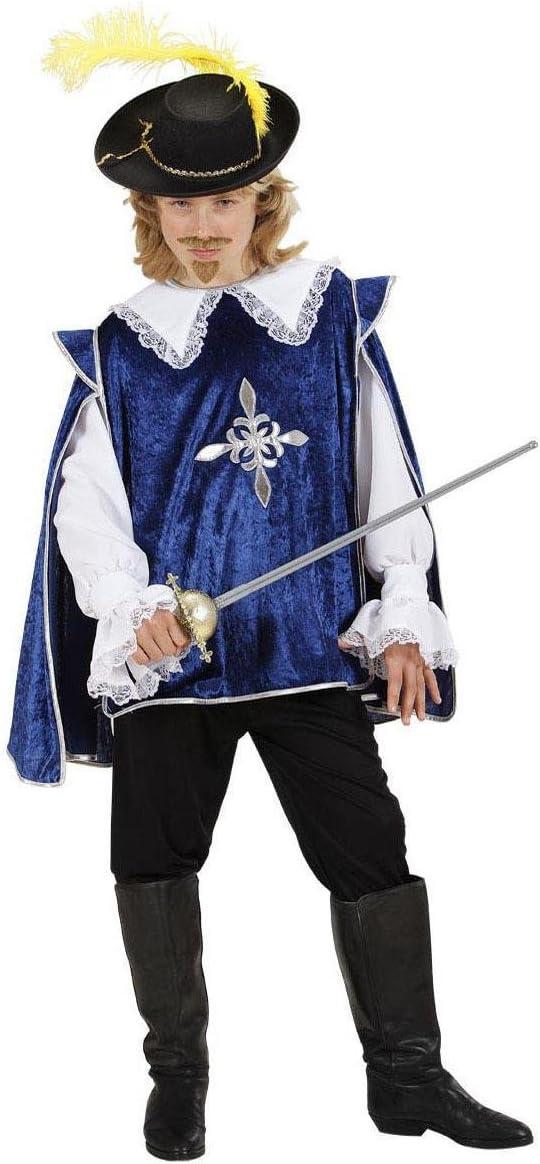 WIDMANN Desconocido Disfraz azul de mosquetero para niño: Amazon ...