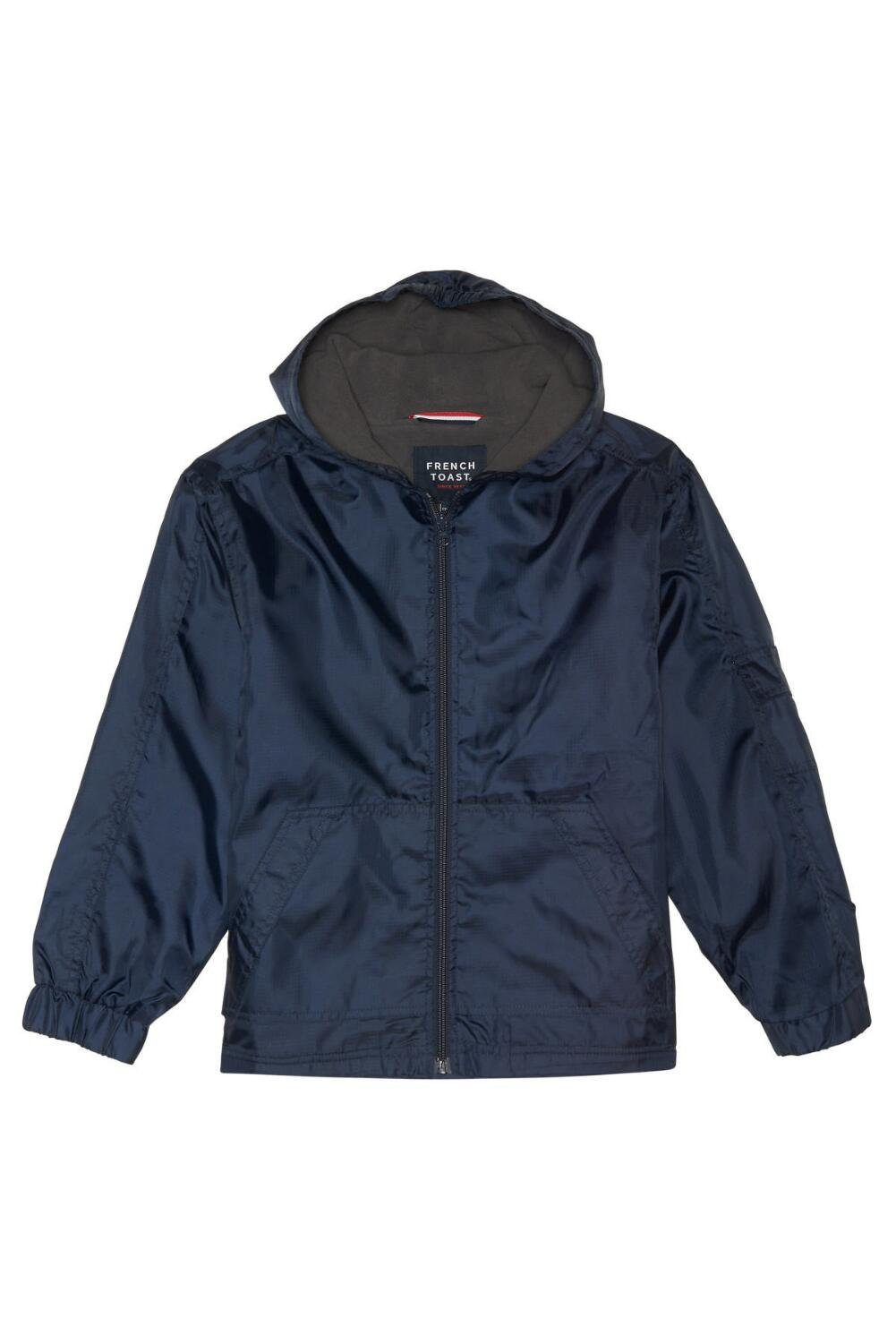 French Toast Little Boys' Transitional Jacket, Navy, S (6/7)