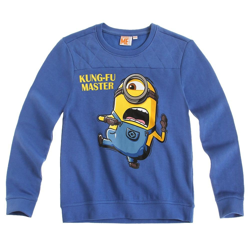 Ich Einfach Unverbesserlich - Minion Kinder Sweatshirt Shirt Gr. 116-152