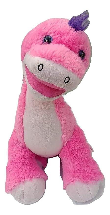 Amazon Com Apatosaurus Pink Dinosaur Plush Stuff Animal Toys Games