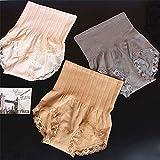 Lace Women's Knickers High Waist Briefs Shapewear Body Shaper Tummy Control Panties