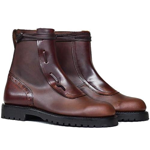 a39f36becd73d Botosvalverde borceguil Campo Bota Baja Piel marrón Cordones Piso montaña  Valverde del Camino  Amazon.es  Zapatos y complementos