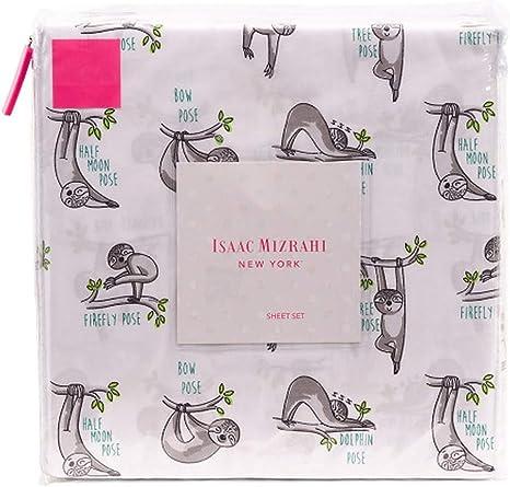 Amazon.com: Isaac Mizrahi Co. Chill - Juego de sábanas ...