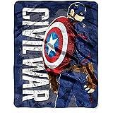 Marvel Captain America ''Captain's War'' 40'' x 50'' Silk Touch Throw