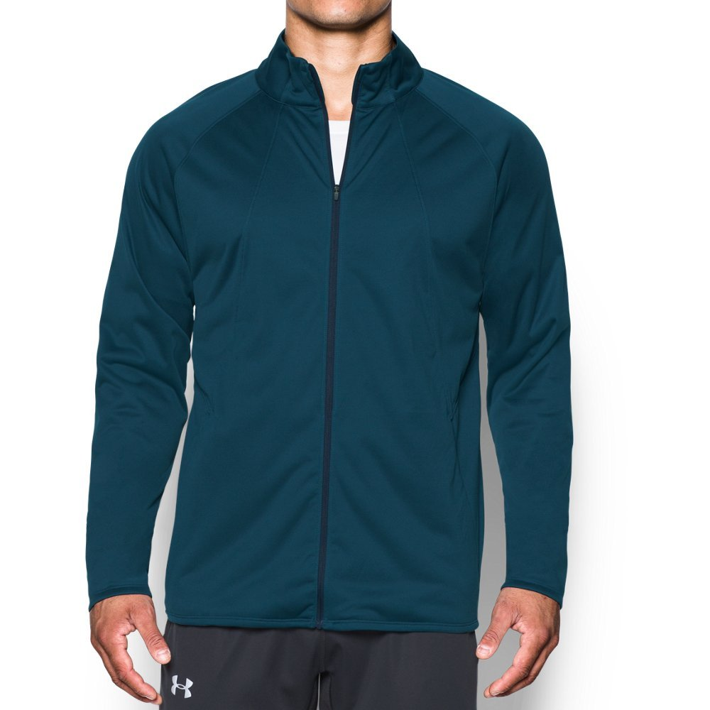Under Armour Men's Storm ColdGear Reactor PickUpThePace Jacket,True Ink (918)/Reflective, Small by Under Armour (Image #1)