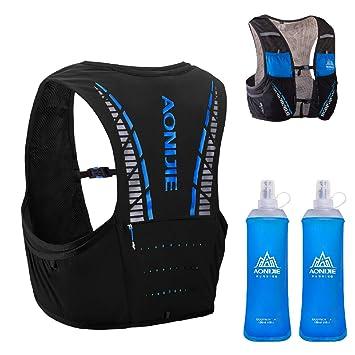 Amazon.com: Triwonder - Chaleco de hidratación con bolsa de ...