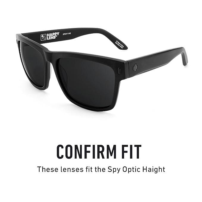 b5b336e2f34 Amazon.com  Revant Polarized Replacement Lenses for Spy Optic Haight Elite  Black Chrome MirrorShield  Sports   Outdoors