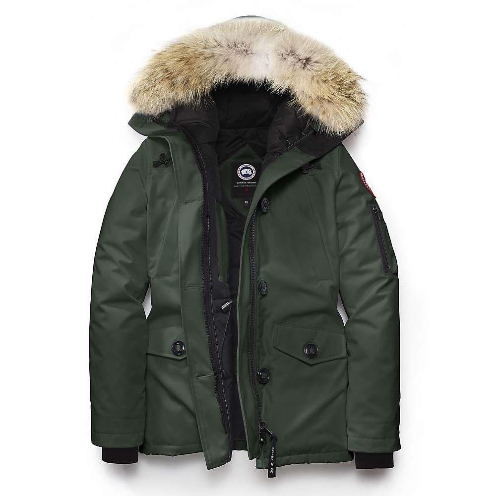 Goose Montebello In Green Parka Canada Jacket Ladies YEeW9HID2