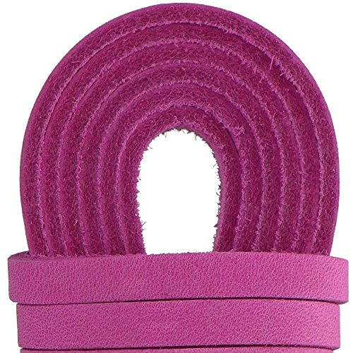 Leather Straps 2 Pieces 1/4 Wide and 72 inches long Laces That Are Great For Many Purposes by TOFL (Suede Cow Leather)