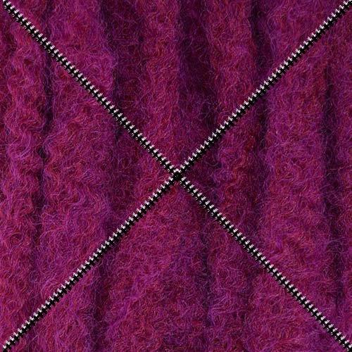 Fuchsia Crochet - Dreadlock Foundation Fiber for Braids, Twists and Dreadlock Hair Extensions - Fuchsia