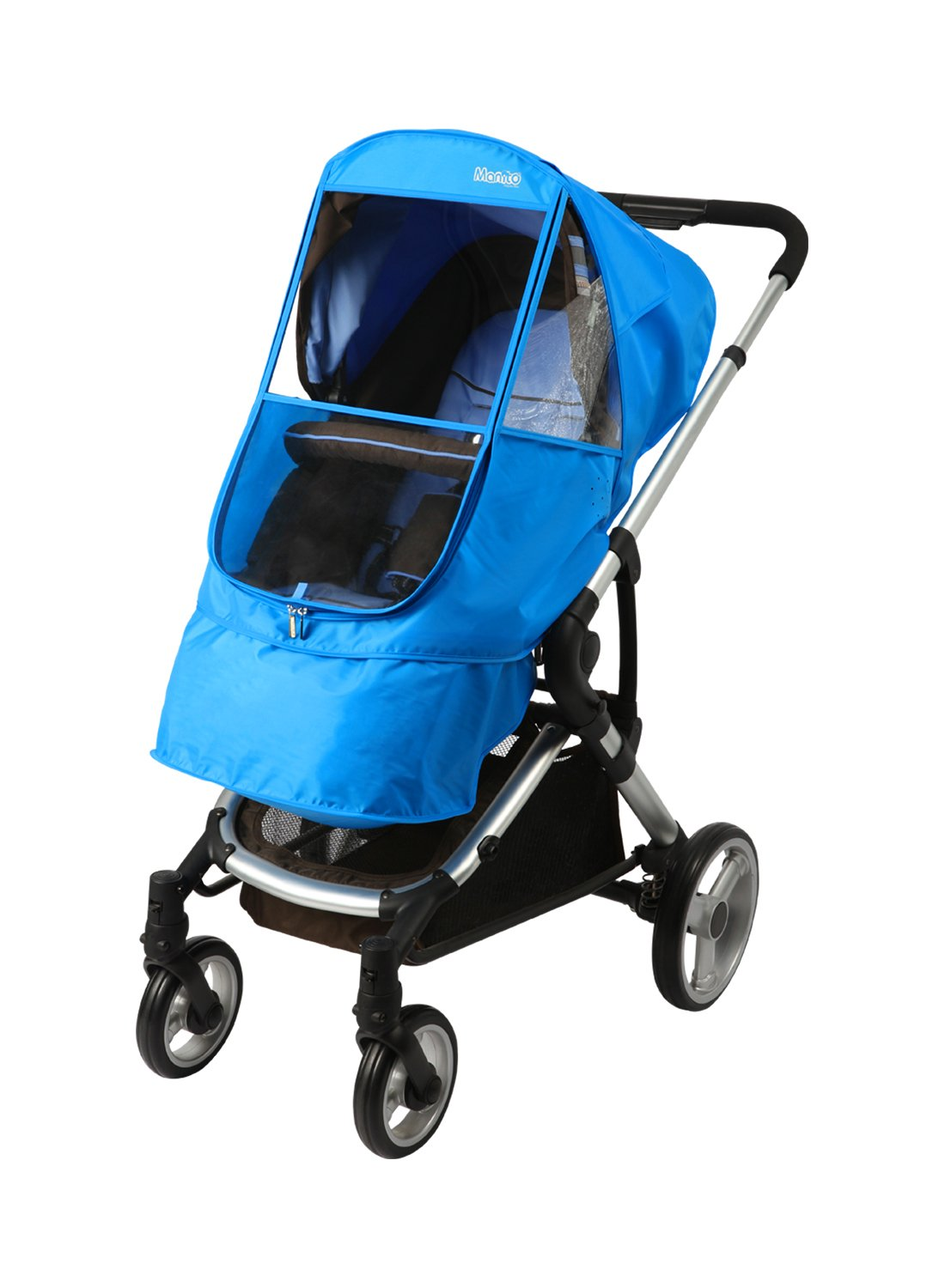 Manito Elegance Beta Stroller Weather Shield / Rain Cover - Blue by Manito