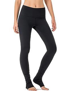 a120380c9924db NAVISKIN Women's High Waisted Extra Long Yoga Leggings Over The Heel  Leggings Back Pocket