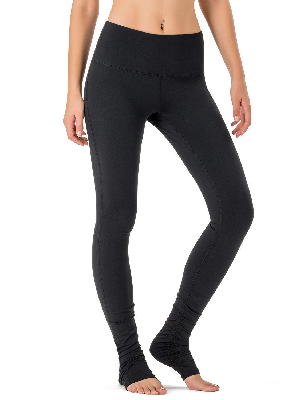 ba4f4214e7 Amazon.com: NAVISKIN Women's High Waisted Extra Long Yoga Leggings Over The  Heel Leggings Back Pocket: Clothing