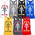 Gold's Gym 2016 Muscle Joe Premium Stringer Vest Mens Fitness Training Gym Y-Back Tank Top