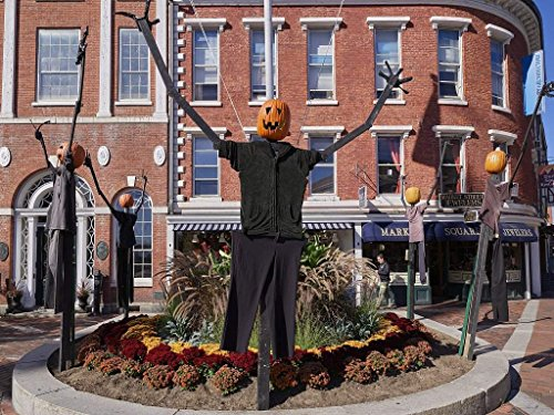 Photograph | Halloween decorations outside the Portsmouth Athenum,