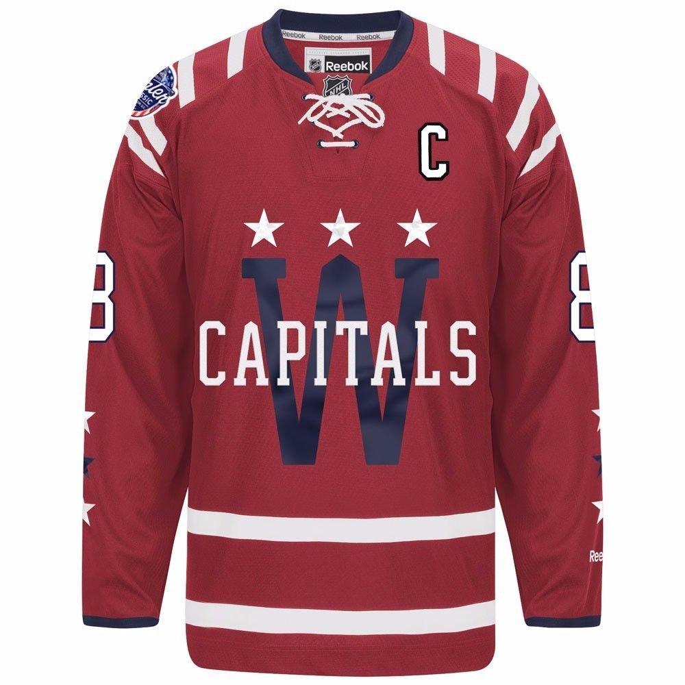 67e411eba Amazon.com   Alexander Ovechkin Washington Capitals 2015 Winter Classic  Men s NHL Jersey (Medium)   Sports   Outdoors