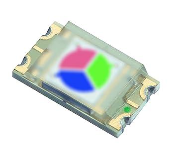 Kingbright KPS-5130PD7C - Sensor de color RGB (1500 unidades), color rojo