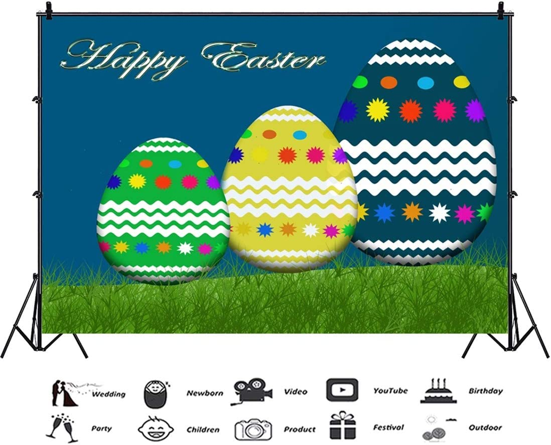 Yeele-Easter-Backdrop 10x8ft Easter Photography Background Eggs Photo Backdrops Pictures Studio Props Wallpaper