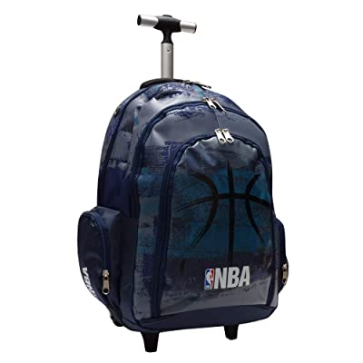 NBA - Bolsa escolar azul azul marino: Equipaje