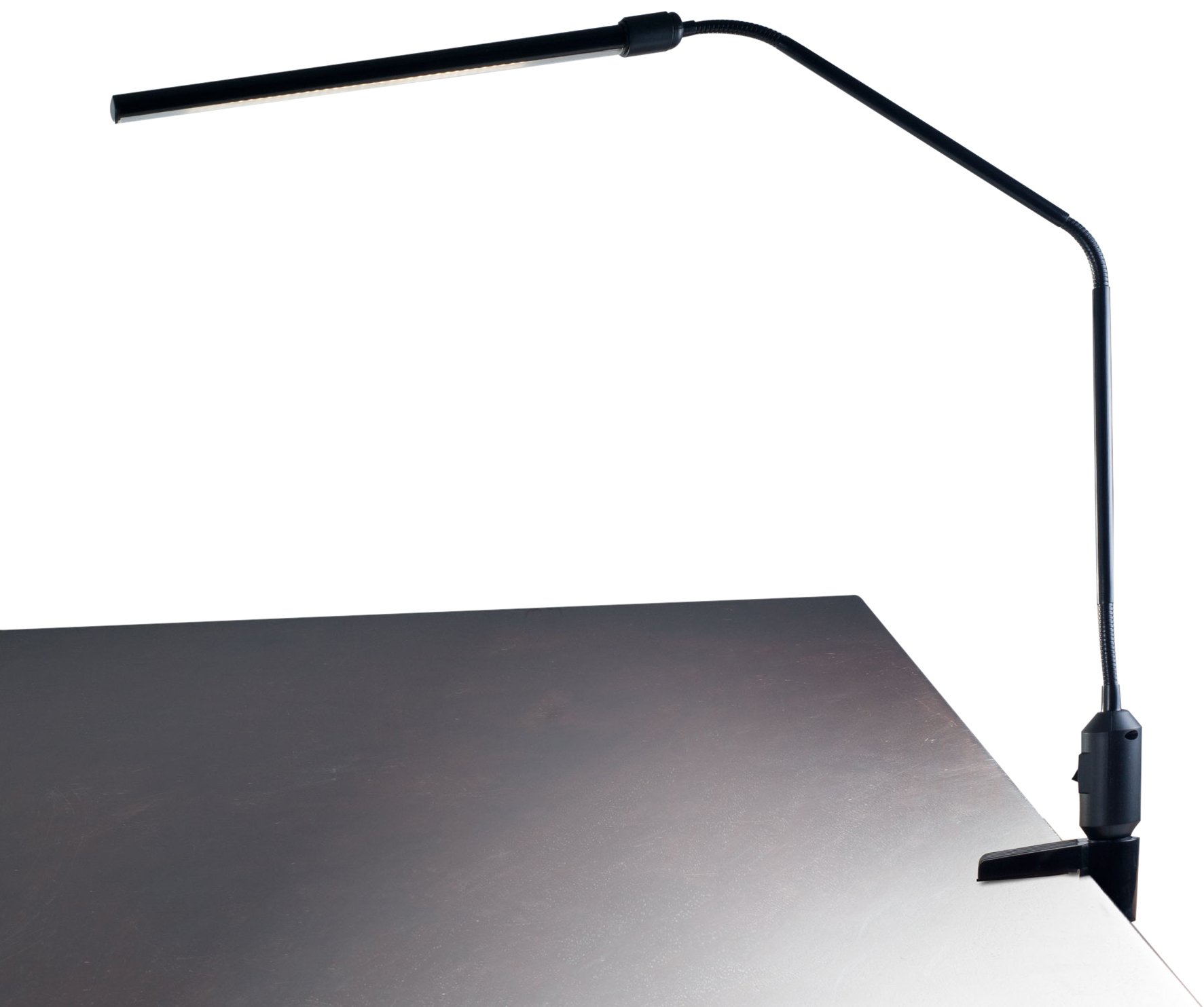 Lavish Home Contemporary Clamp LED Desk Lamp, Black (41'')