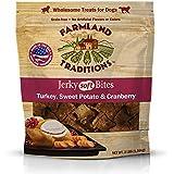 Farmland Traditions USA Made Jerky 3 lbs. Dog Treats Turkey, Sweet Potato, Cranberry
