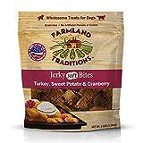 Cheap Farmland Traditions USA Made Jerky 3 lbs. Dog Treats Turkey, Sweet Potato, Cranberry