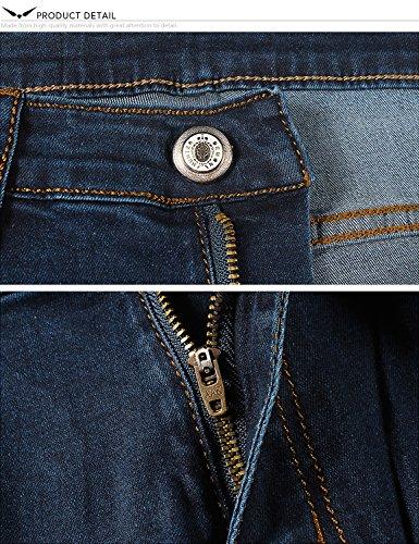 Jeans Normale Uomo Militare Da X Demon Gioventù Serie Dh8048 Elasticizzato Di Marina Stretti 808 amp;hunter Simple zxF1qZ0a