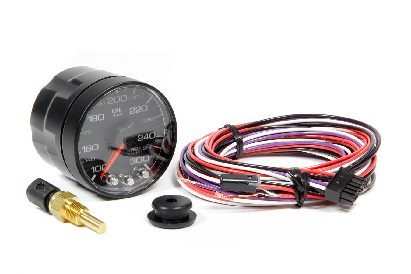 ProParts P322328 Spek-Pro 2-1/16'' Electric Oil Temperature Gauge (100-300 Degree F, 52.4mm) by ProParts