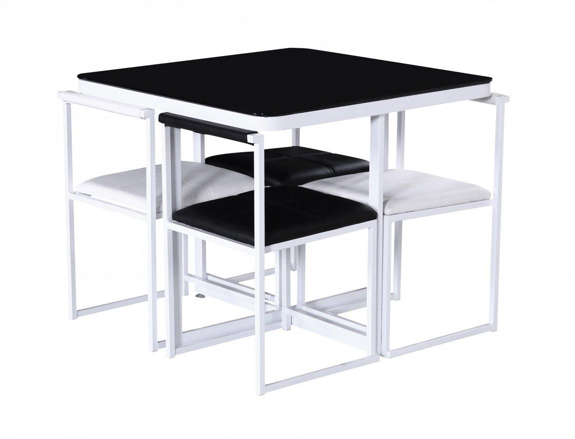 HGG – Stowaway Esstisch und Stühle – Küche Tisch und Stühle für ...